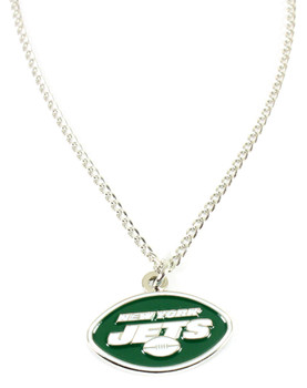 New York Jets Logo Necklace