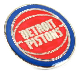 Detroit Pistons Logo Pin