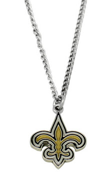New Orleans Saints Logo Pendant