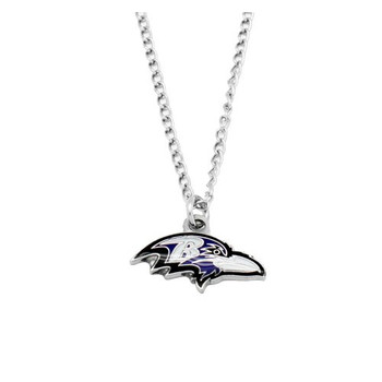 Baltimore Ravens Logo Necklace