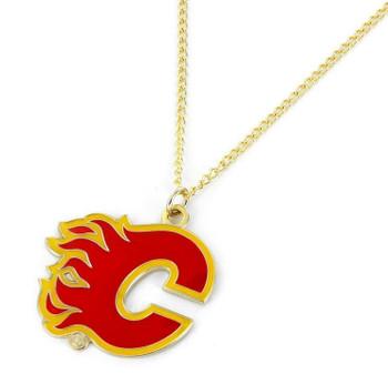 Calgary Flames Logo Necklace