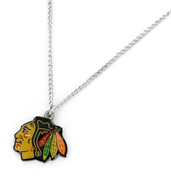 Chicago Blackhawks Logo Necklace