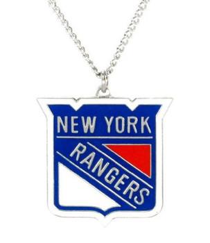 New York Rangers Logo Necklace