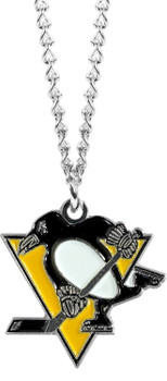 Pittsburgh Penguins Logo Necklace