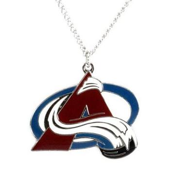 Colorado Avalanche Logo Necklace