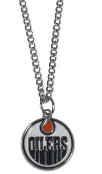 Edmunton Oilers Logo Necklace