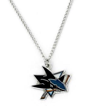 San Jose Sharks Logo Pendant