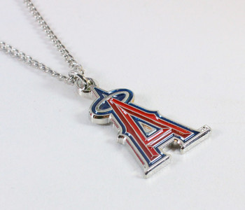 Los Angeles Angels Logo Necklace.