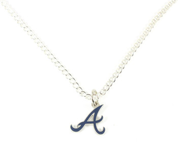 Atlanta Braves Logo Necklace / Pendant