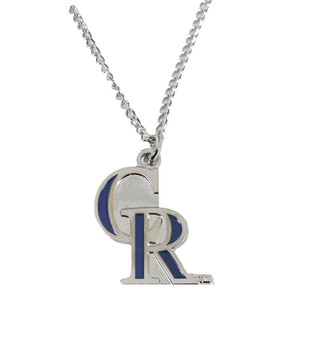 Colorado Rockies Logo Necklace