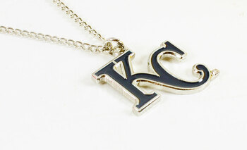 Kansas City Royals Logo Necklace
