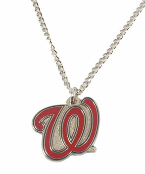 Washington Nationals Logo Pendant