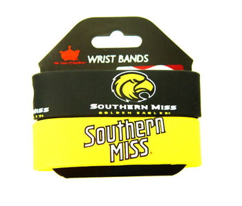 Southern Miss Wide Wristbands (2 Pack)