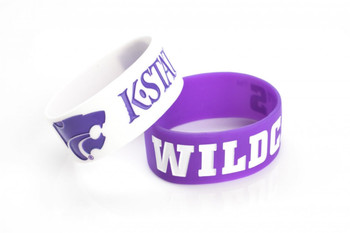 Kansas State Wide Wristbands (2 Pack)