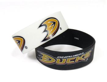 Anaheim Ducks Wide Wristbands (2 Pack)
