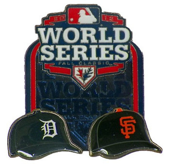 Tigers vs Giants 2012 World Series Head to Head Pin #2