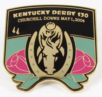 2004 Kentucky Derby Logo Pin