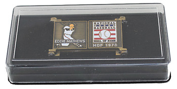 Eddie Mathews Hall of Fame Career Pin - Limited Edition 1,978