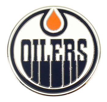 Edmonton Oilers Logo Pin