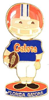 Florida Gators Bobbing Head Doll Pin