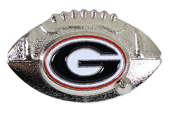 Georgia Football Pin