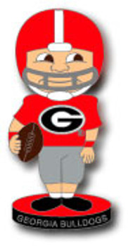 Georgia Football Bobble Head Pin