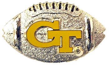 Georgia Tech Football Pin