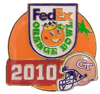 Orange Bowl 2010 Georgia Tech Pin