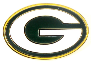 Green Bay Packers Logo Pin
