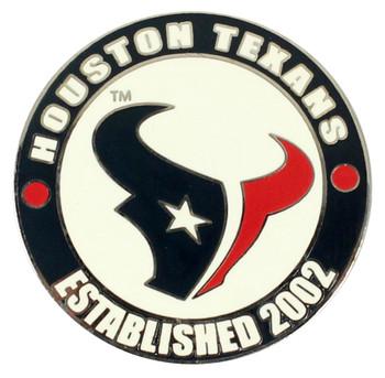 Houston Texans Circle Pin - est. 2002
