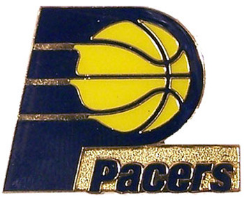 Indiana Pacers Logo Pin