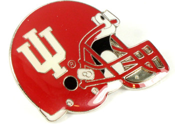 Indiana Football Helmet Pin