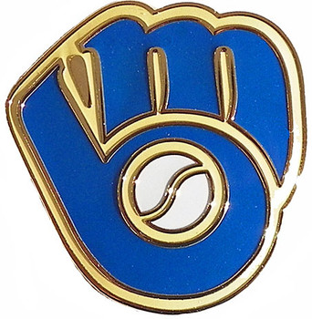 Milwaukee Brewers Retro Logo Pin