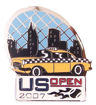 2007 US Open New York City Icon Pin