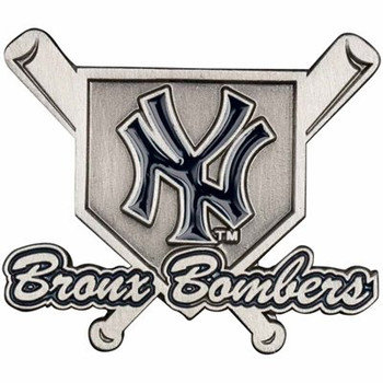 New York Yankees Bronx Bombers Cross Bats Pin
