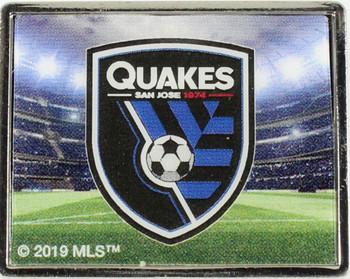 San Jose Earthquakes Logo Pin