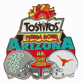 2009 Fiesta Bowl Ohio State vs. Texas Pin