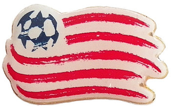 New England Revolution Logo Pin