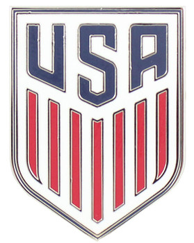 United States Soccer Logo Pin