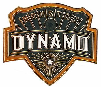 Houston Dynamo Logo Pin