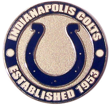 Indianapolis Colts Circle Pin