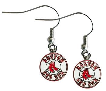 Boston Red Sox Logo Earrings