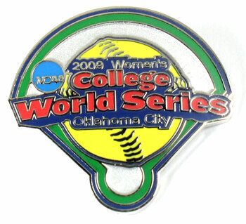 2009 Women's College World Series Pin