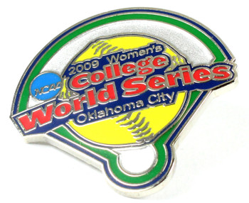 2009 Women's College World Series Pin