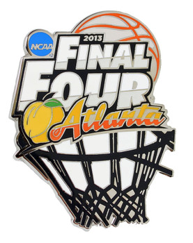 2013 NCAA Final Four Pin - Oversized 2""