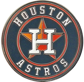 Houston Astros Logo Pin