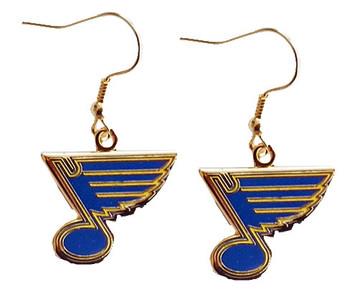 St. Louis Blues Logo Earrings