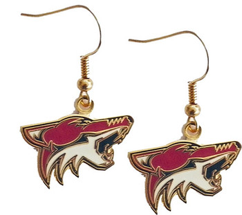 Arizona Coyotes Logo Earrings