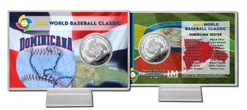 Mexico 2013 World Baseball Classic Silver Coin Card