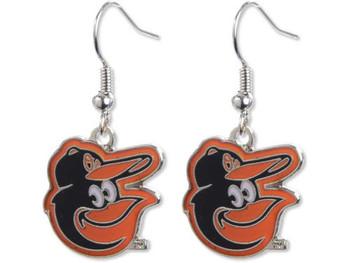 Baltimore Orioles Bird Logo Earrings